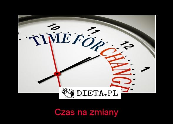 Czas na zmiany - Dieta.pl/motywatory